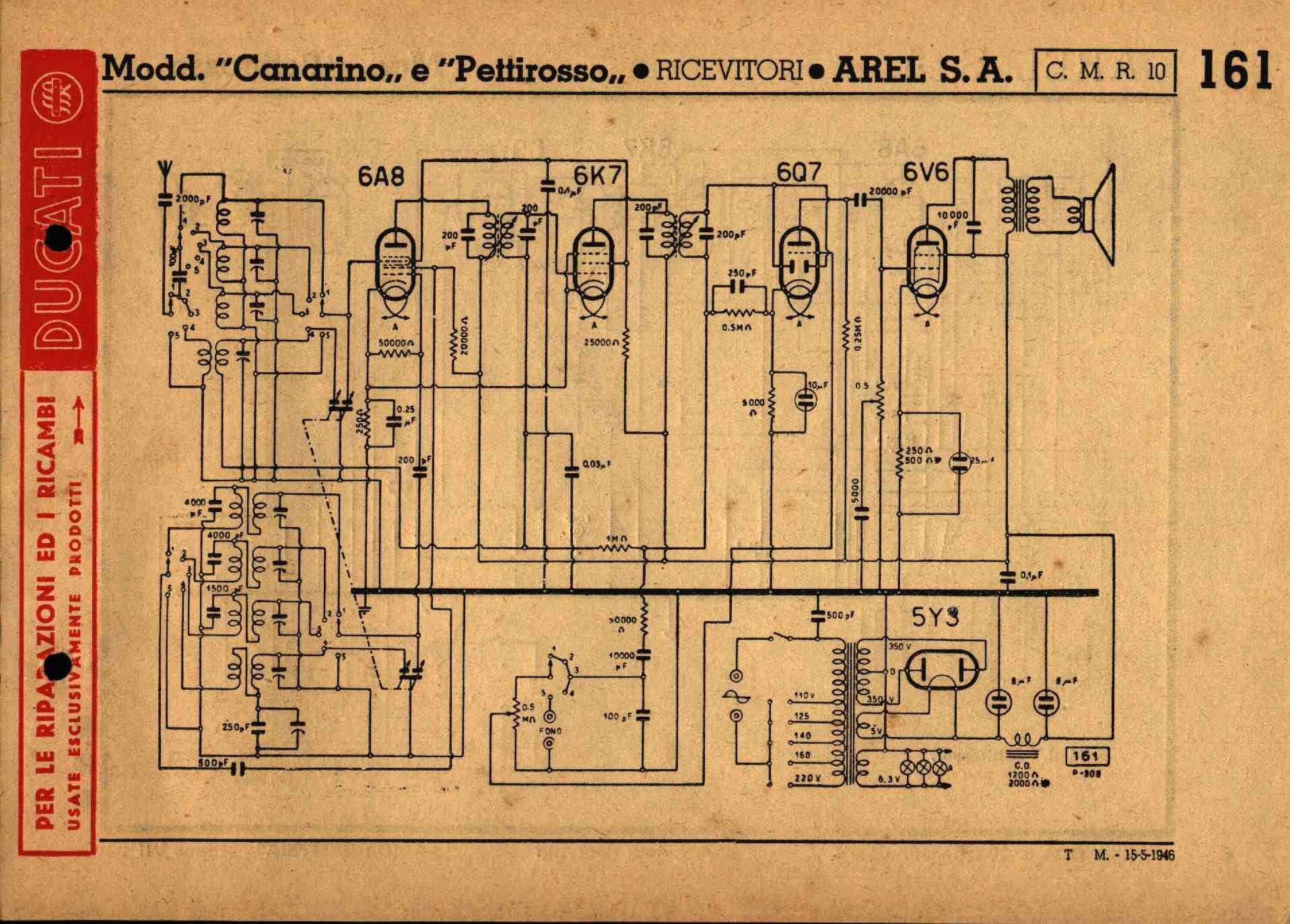 Schemi Elettrici Radio A Valvole : Schemi di vecchie radio a valvole old tube diagrams