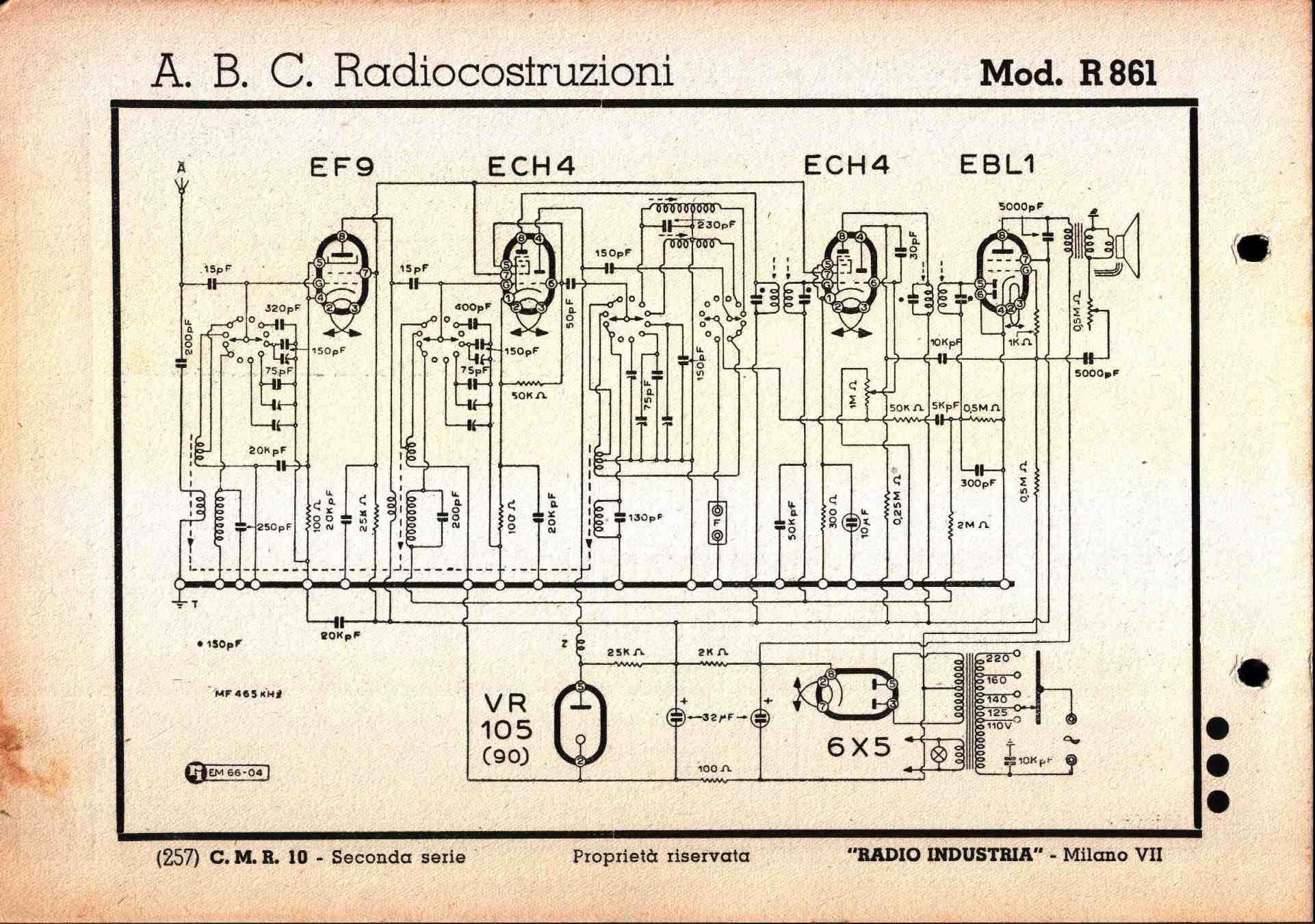 Schemi Elettrici Radio : Schemi elettrici radio a valvole kennedy k una comune