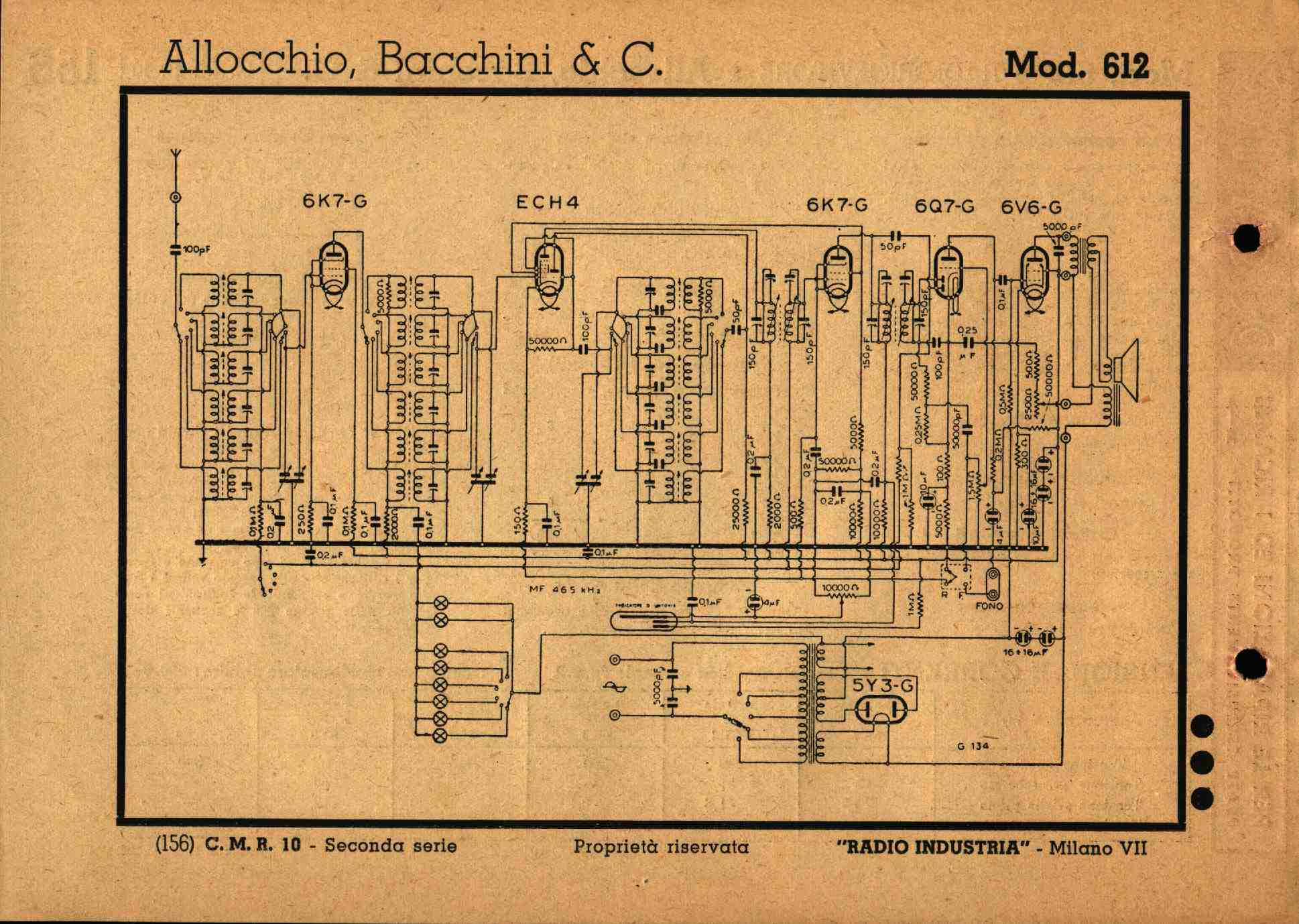 Schemi Elettrici Radio A Valvole Gratis : Schemi di vecchie radio a valvole old tube diagrams