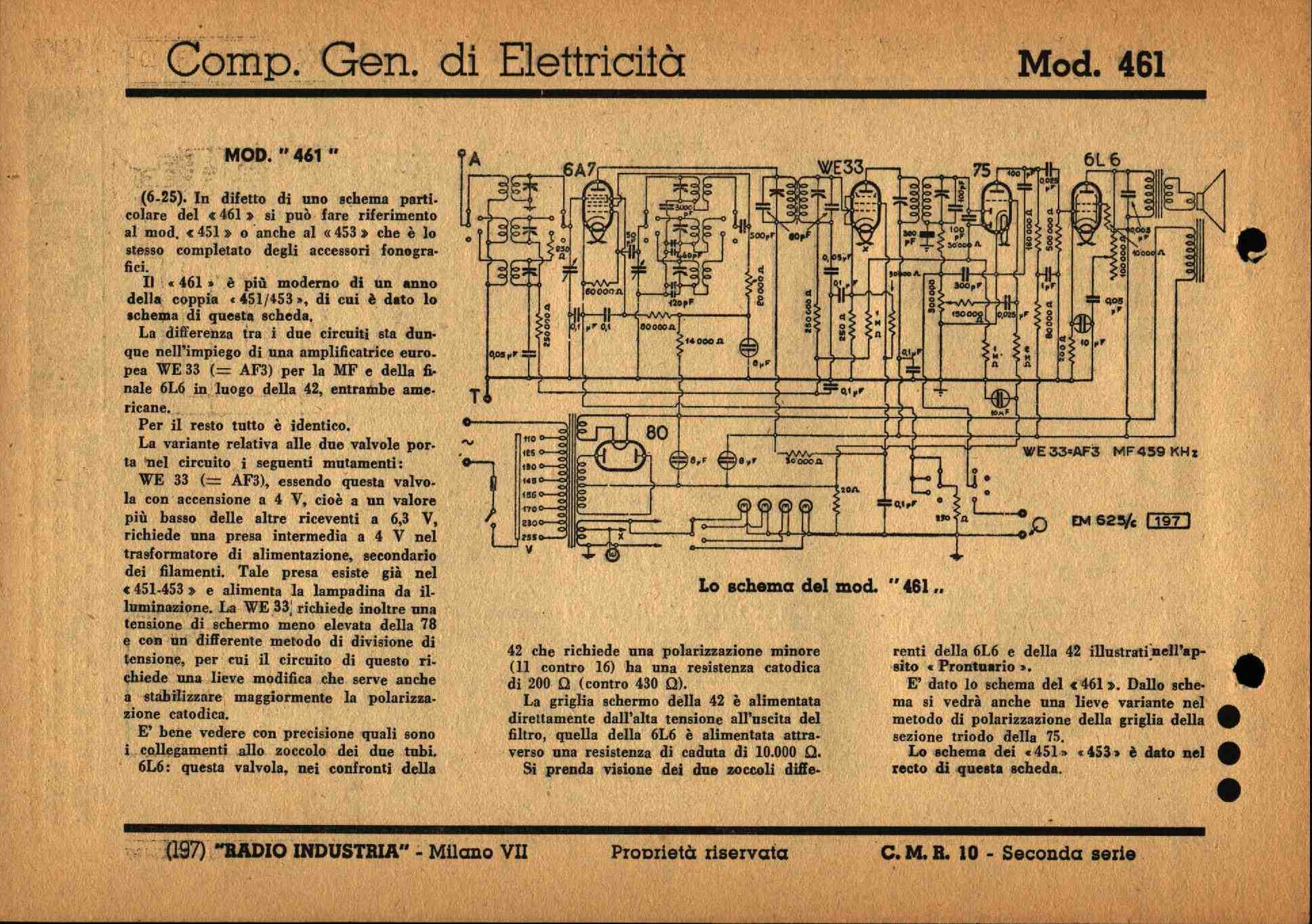 Schemi Elettrici Radio : Schemi di vecchie radio a valvole old tube radio diagrams